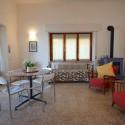 Ligurien Ferienwohnung - Wohnraum mit Einzelbett