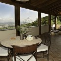 Ferienwohnung Sughera di Sopra - die Terrasse