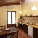 Ferienwohnung Cerro di Sopra - die Küche