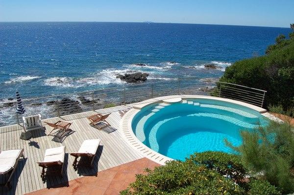 Luxusvilla am meer mit pool  Toskana Ferienhaus Meerblick - Castiglioncello - Toskavista