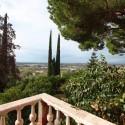 Ferienhaus Camaiore - Ausblick bis zum Meer von den oberen Etagen aus