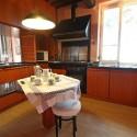 Ferienhaus Camaiore - die kleinere Küche in der 1. Etage