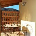 Ferienwohnung Fonte di Sopra - die Terrasse