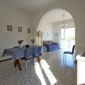 Ferienwohnung Ligurien - Wohnküche mit Essplatz