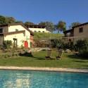 Das Öko-Landgut Poggio la Croce mit drei separaten Häusern