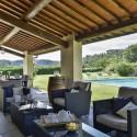 Ferienvilla Fortuna - die große möblierte Terrasse