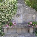 ein romantischer Platz im Garten
