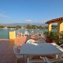 Ligurien Ferienwohnung mit möblierter Terrasse