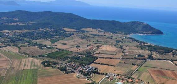 Ferienanlage Poggio all'Agnello am Golf von Baratti