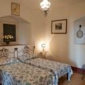 Villa Azzurra, das Schlafzimmer im Gästehaus
