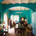 Villa Azzurra - der große Wohnraum mit Essplatz im EG