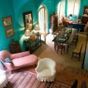 Villa Azzurra - der Wohn-/Essraum von der Treppe aus gesehen