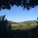 Villa Azzurra - Ausblick in die herrliche Landschaft der Toskana