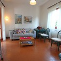 Wohnraum mit Schlafsofa für 2 Personen