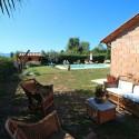 ein schattiger privater Gartenplatz zum Relaxen