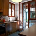 Ferienhaus Villa Il Pescatore - Küche mit Zugang zur Terrasse