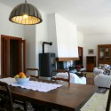 Villa Il Pescatore - Essbereich im großen Wohnraum