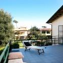 Villa Il Pescatore - die Sonnenterrasse im Obergeschoss
