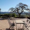 Landhaus La Pieve - Terrasse mit herrlichem Panoramablick