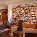 Landhaus La Pieve - die Bibliothek