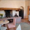 Landhaus La Pieve - das Kaminzimmer