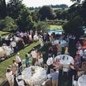 Villa Medioevo - Hochzeitsgesellschaft im Garten