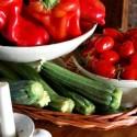 frische Zutaten - gereift in der Sonne Italiens