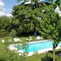 Villa Medioevo - der private Pool