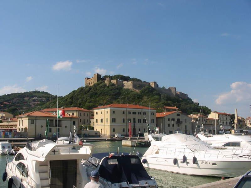 Badeort Castiglione della Pescaia mit Yachthafen