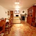 Ferienhaus Strettoia - Wohnraum im Untergeschoss