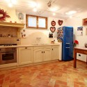 Ferienhaus Strettoia - Küche im Untergeschoss