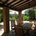 Toskana Ferienhaus 5 Personen, Terrasse