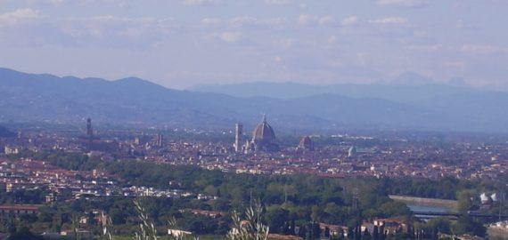 Panoramablick über die Dächer von Florenz