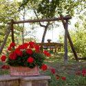 Casentino Landhaus Heidi, Garten mit Spielbereich für Kinder