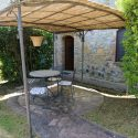 Chianti Ferienwohnung Castagno, Terrasse