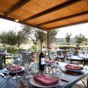 Umbrien Agriturismo, Restaurant-Terrasse