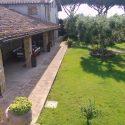 Toskana Ferienhaus für 8 Personen, Terrasse