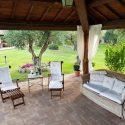 Toskana Ferienhaus für 8 Personen, Garten