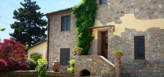 Toskana Urlaub auf dem Weingut Santa Cristina