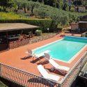 Versilia Ferienhaus mit Pool, Lage