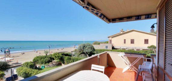 Ferienwohnung Strandurlaub Palmaria, Aussicht