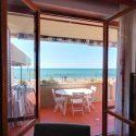 Ferienwohnung Strandurlaub Palmaria, Terrasse