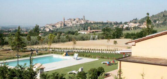 Ferienhaus Castiglion Fiorentino - Swimmingpool
