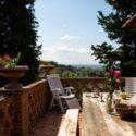 Ferienhaus Casale Castiglion Fiorentino, Balkon