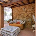 Sommerhaus Castiglione della Pescaia, Terrasse