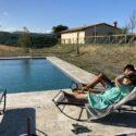 Ferienhaus Valle sul Rigo, Swimmingpool